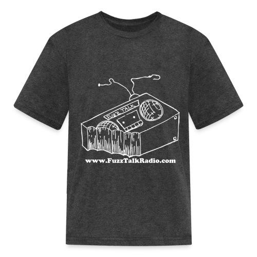 FTRLogoWhiteAddress - Kids' T-Shirt