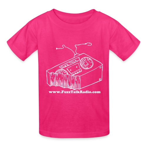 FTRLogoWhiteAddress - Kids' T-Shirt