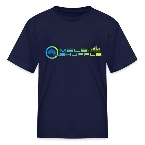 Melbshuffle Gradient Logo - Kids' T-Shirt