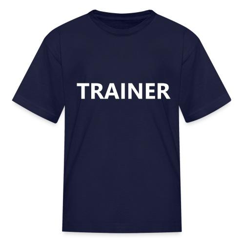 Trainer - Kids' T-Shirt
