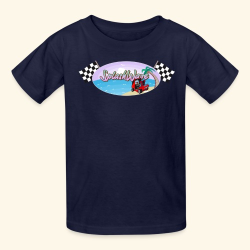 SplashWave 4 Garnet - Kids' T-Shirt