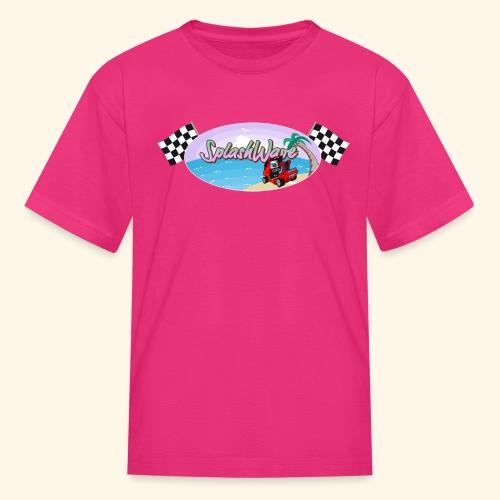SplashWave 4 Garnet - Kids' T-Shirt