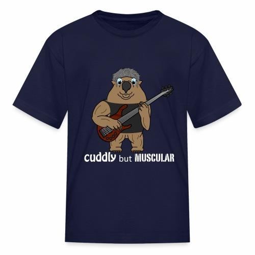 wombatwhite - Kids' T-Shirt