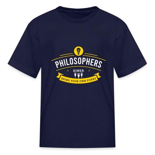 Philosophers Diner - Kids' T-Shirt