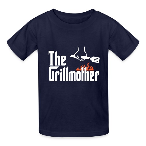 The Grillmother - Kids' T-Shirt