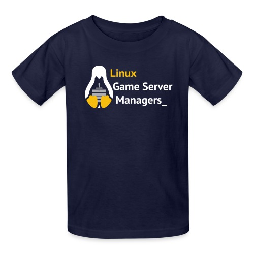 Linux Game Server Managers - Kids' T-Shirt