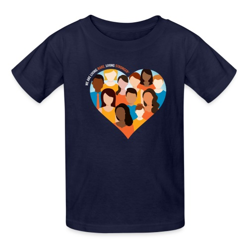 Living Rare, Living Stronger 2021 - Kids' T-Shirt