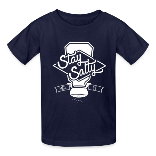 Stay Salty White - Kids' T-Shirt