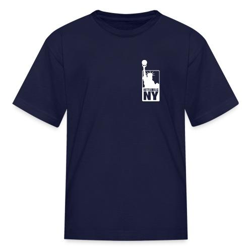 Kettlebells NY women's tee shirt - Kids' T-Shirt