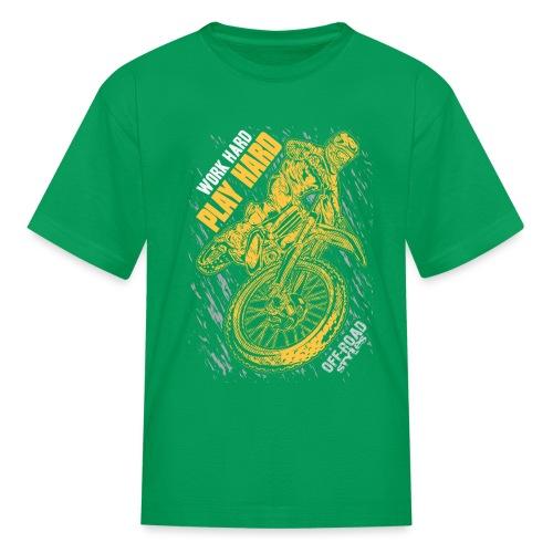 MX Play Hard Orange - Kids' T-Shirt