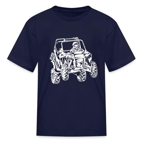 UTV Side-X-Side racer - Kids' T-Shirt