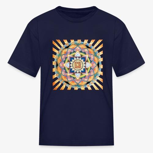 Radiant Light Mandala - Kids' T-Shirt