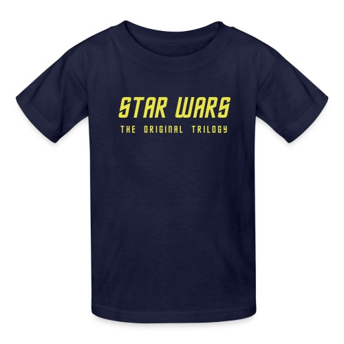 star wars original trilogy - Kids' T-Shirt