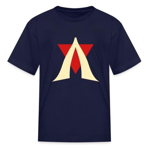 V Logo Jimmy Casket - Kids' T-Shirt