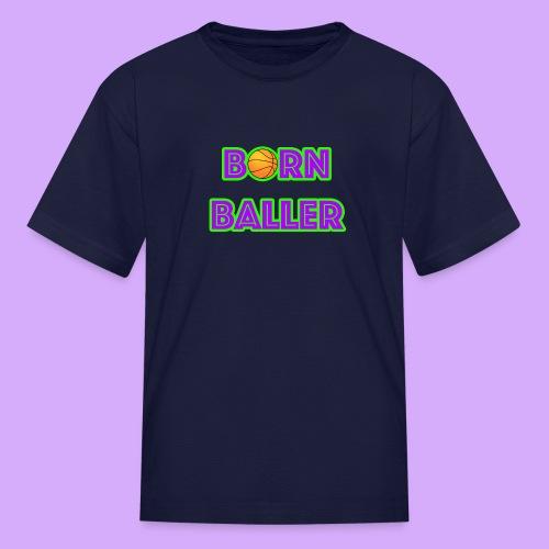 bornballerlogosmall png - Kids' T-Shirt