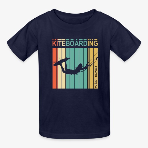 Kiteboarding WEST COAST - Kids' T-Shirt