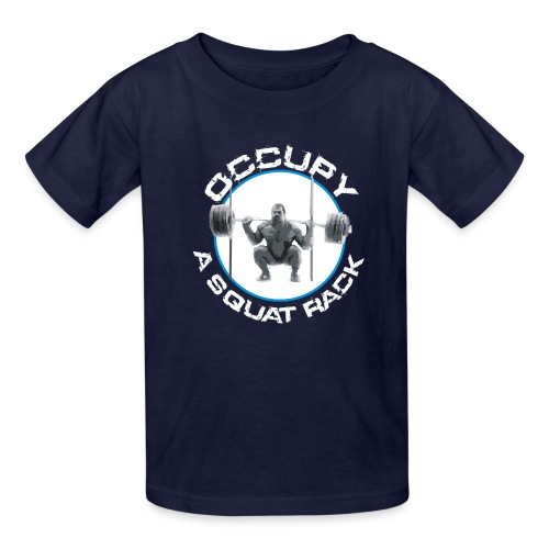 occupysquat - Kids' T-Shirt