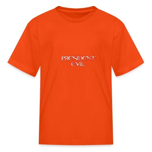 President-Evil-Bestseller - Kids' T-Shirt
