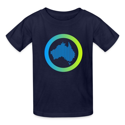 Gradient Symbol Only - Kids' T-Shirt