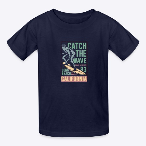 Catch The Wave - Kids' T-Shirt