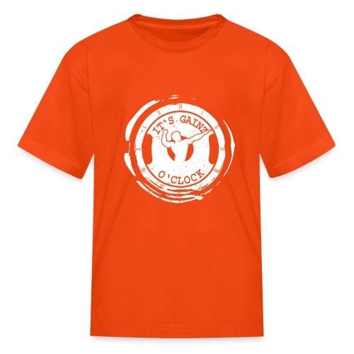 It's Gainz O'Clock - Kids' T-Shirt
