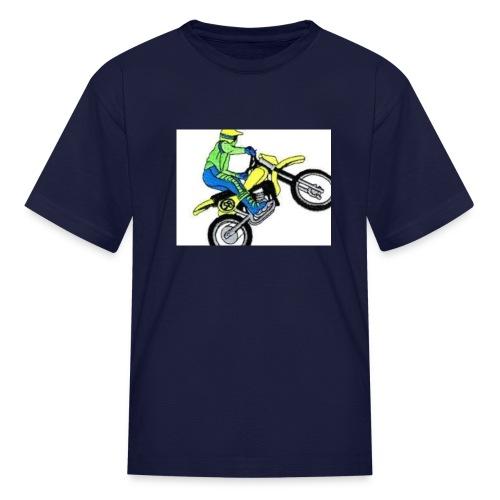 moto bikes - Kids' T-Shirt