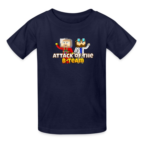 Attack of the B Team Intro png - Kids' T-Shirt