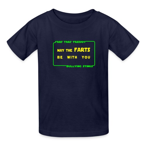 may the farts2 png - Kids' T-Shirt
