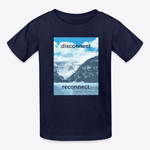 Disconnect Reconnect - Kids' T-Shirt