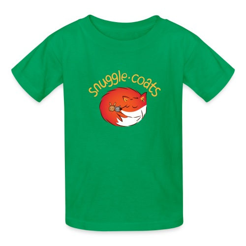 snugglecoats light png - Kids' T-Shirt