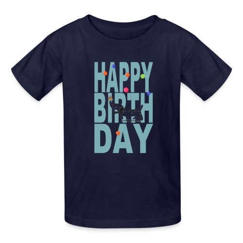 Happy Birth Day For Dogs - Kids' T-Shirt
