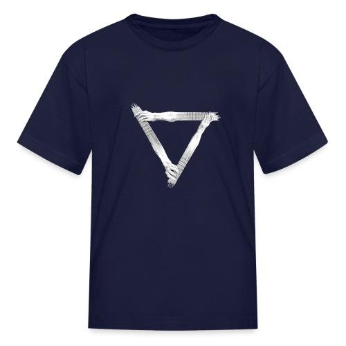guitar arms triangle - Kids' T-Shirt
