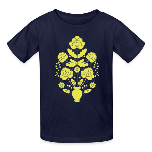 Tree of Life on White - Kids' T-Shirt