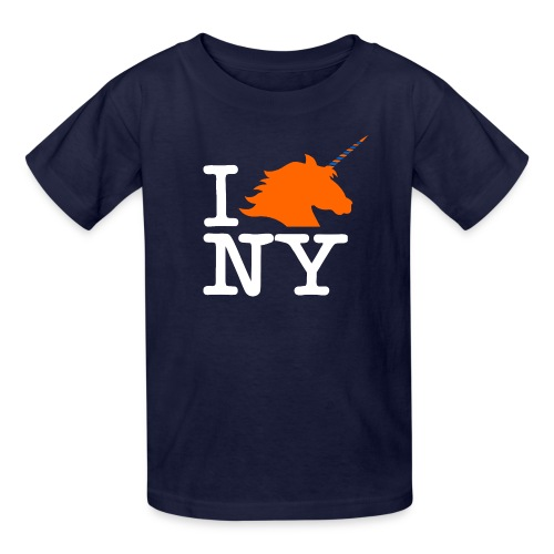 I Unicorn New York (Kristaps Porzingis) - Kids' T-Shirt