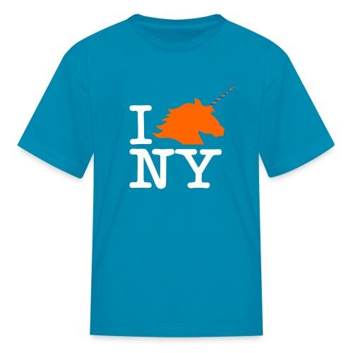 I Unicorn New York (Kristaps Porzingis) - Kids' T-Shirt