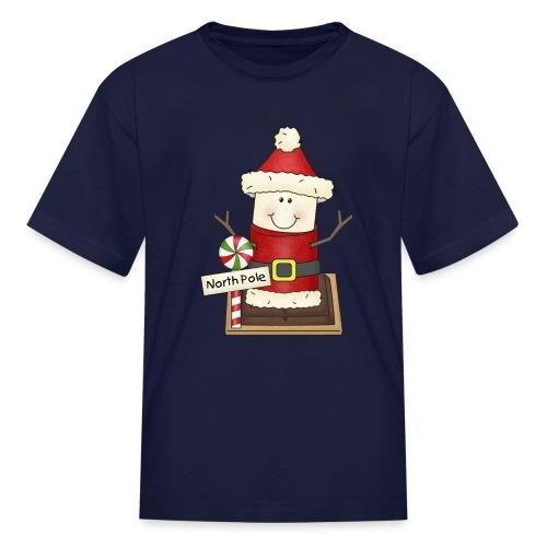 Christmas Smore2 png - Kids' T-Shirt