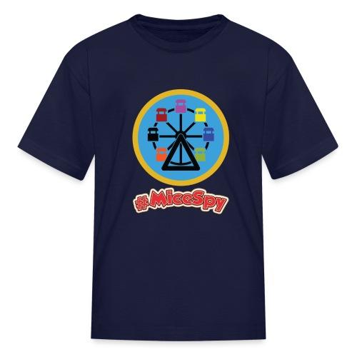 Mickeys Fun Wheel Explorer Badge - Kids' T-Shirt
