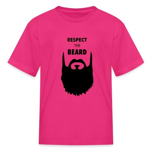 Respect the beard 09 - Kids' T-Shirt