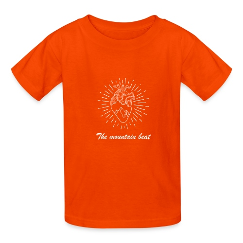 Adventure - The Mountain Beat T-shirts & Products - Kids' T-Shirt