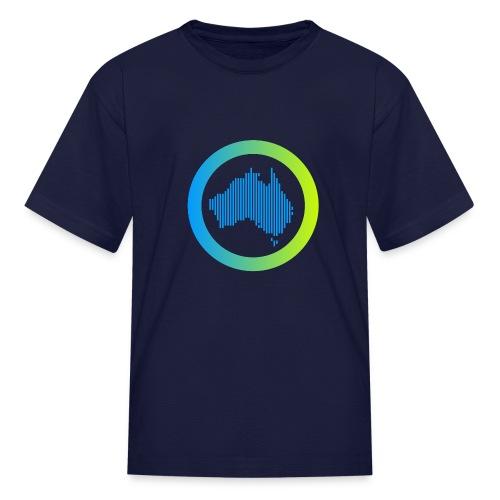 Gradient Symbol Only - Kids' T-Shirt