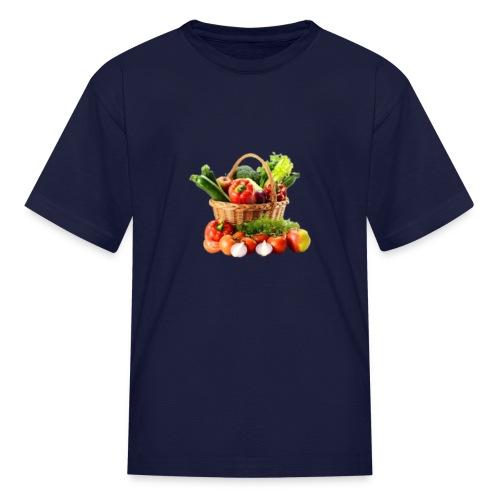 Vegetable transparent - Kids' T-Shirt