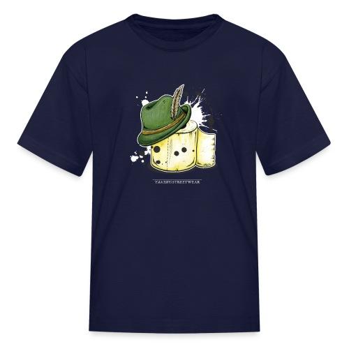The hunter & the toilet paper - Kids' T-Shirt