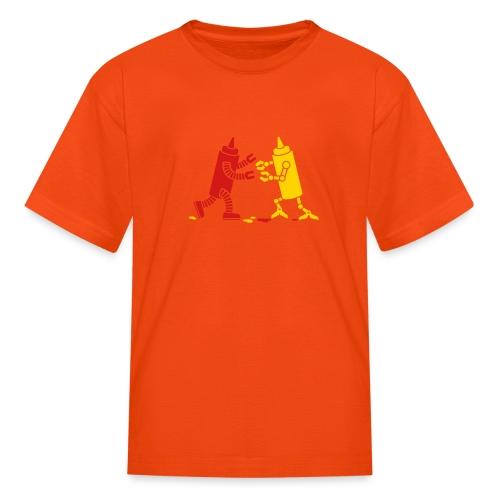 robot ketchupmustard - Kids' T-Shirt