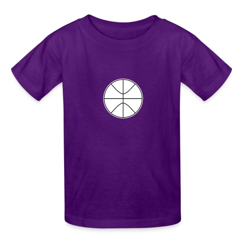 Basketball black and white - Kids' T-Shirt