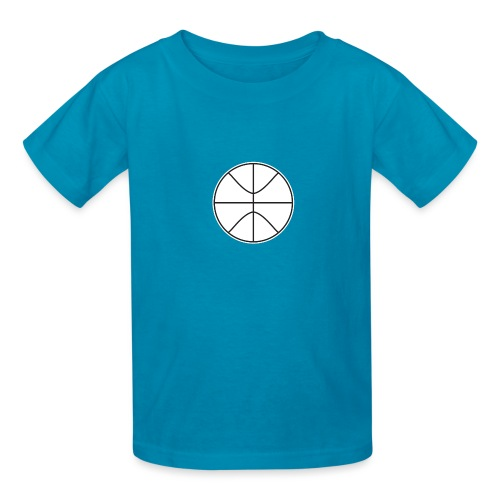 Basketball black and white - Kids' T-Shirt