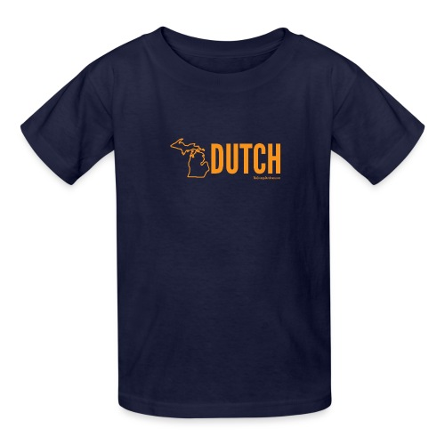 Michigan Dutch (orange) - Kids' T-Shirt