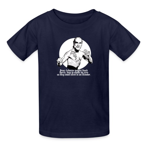 Bruce Schneier Fact #10b - Kids' T-Shirt