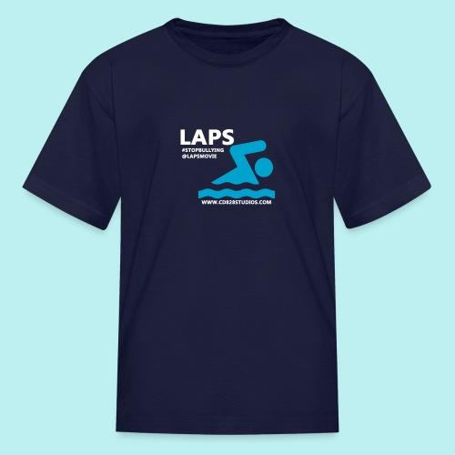 LAPS AN ANTI-BULLYING SHORT FILM LOGO - Kids' T-Shirt