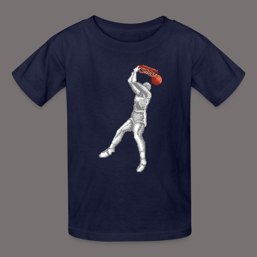 Exciting Basket Double Dribble - Kids' T-Shirt