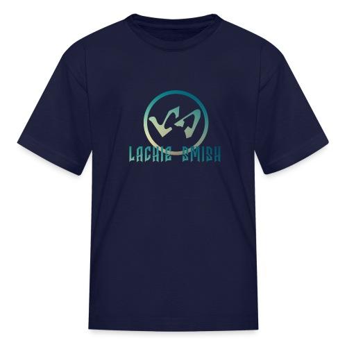 Logo Modern Blue - Kids' T-Shirt